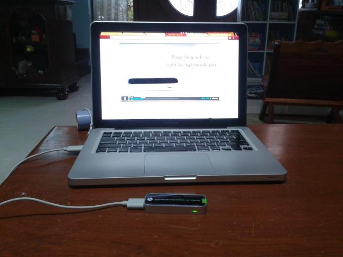 ทดลองบน Mac เรานี้แหล่ะ เพราะคอมพิวเตอร์ทั้งบ้านมีแต่ XP
