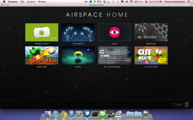 Air space dashboard